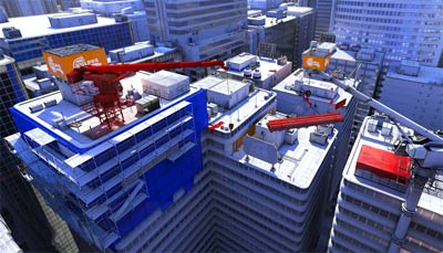 mirrors edge level design