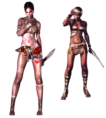 sheva unlockable costumes