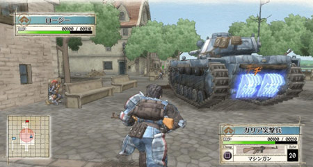 valkyria chronicles combat