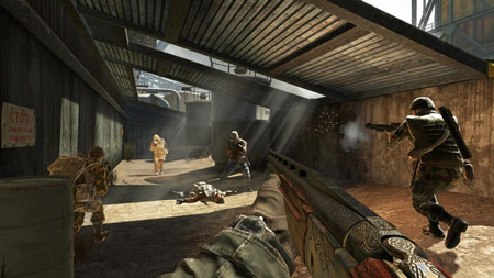 Call of Duty Black Ops gory