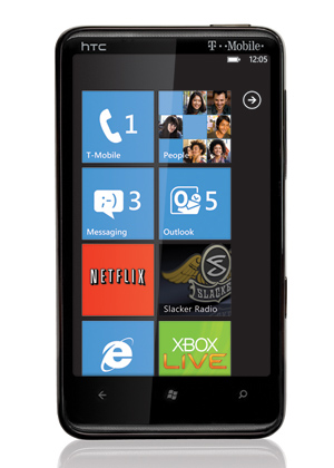 windows phone 7 htc