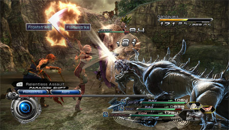 final fantasy xiii 2 battle system