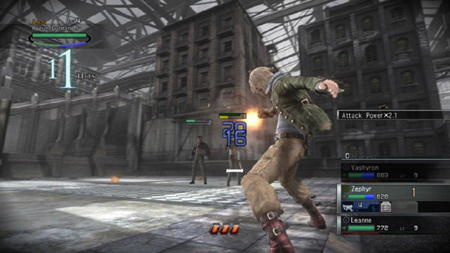 resonance of fate gun gameplay