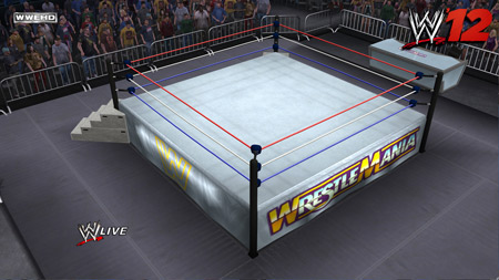 wwe arena creation