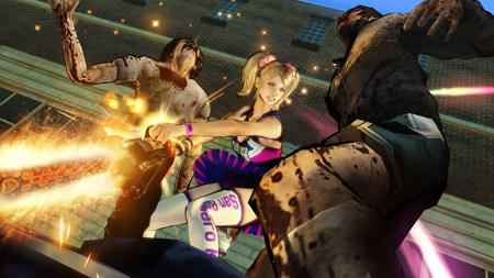 lollipop chainsaw combat