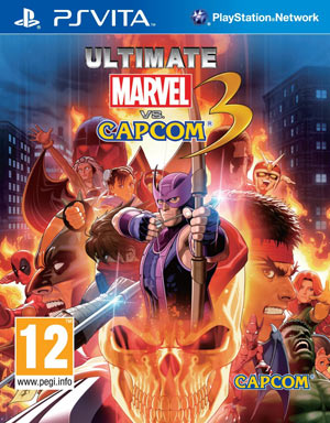 ultimate marvel vs capcom 3 ps vita pre owned