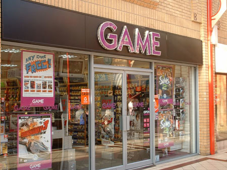 game retail store
