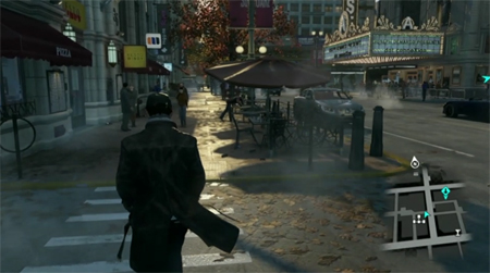 watch dogs street gameplay