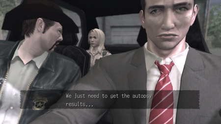 deadly premonition in car characters