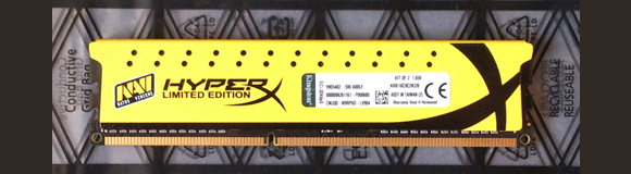 Kingston HyperX Limited Edition (Yellow) 8GB 1600mhz RAM Pack Review