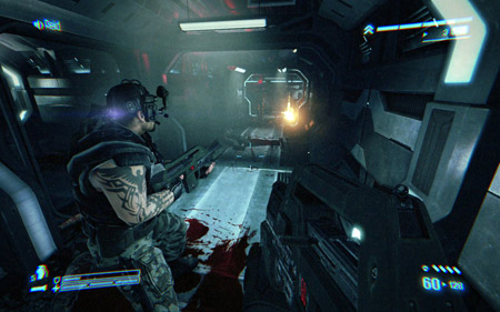 aliens colonial marines graphics
