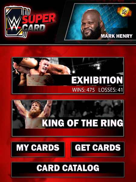 wwe supercard wins loses