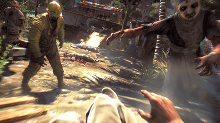 dying light zombie detail
