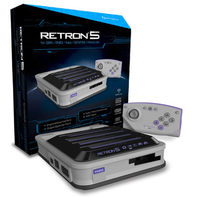 retron 5 fully boxed grey
