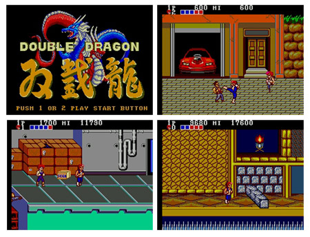 Double Dragon master system positive