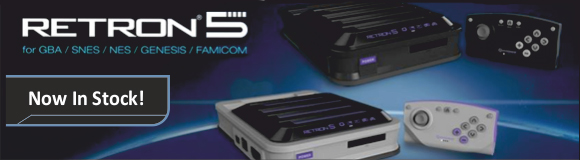 Retron 5 Consoles with Free Delivery