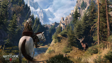 The Witcher 3 open world