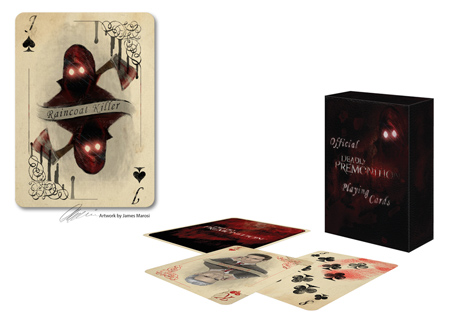 deadly premonition playing cards