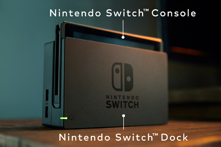 nintendo switch dock console