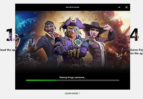 install xbox game pass pc