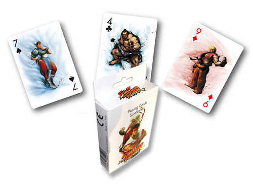 street fighter playing card pack