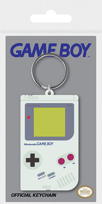 view gameboy rubber keyring