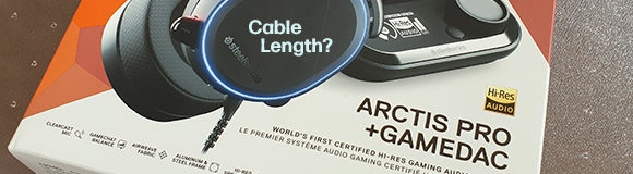 SteelSeries Arctis Pro with GAMEDAC – Cable length and how it works with PS4 and PS5 consoles